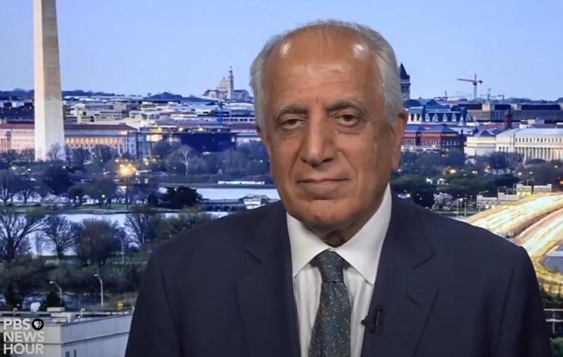 Ambassador Zalmay Khalilzadspeaks with PBS NewsHour Extra.