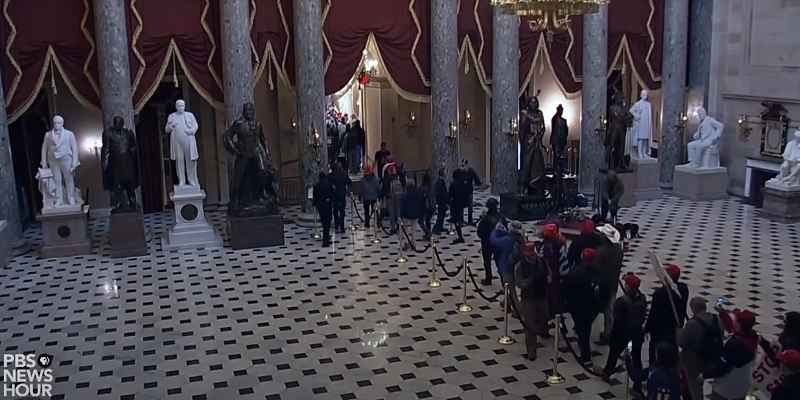police officers and white privilege during the U.S. Capitol Insurrection