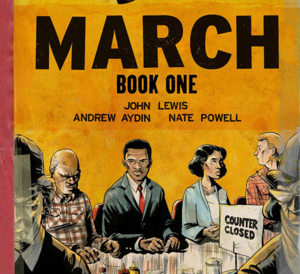 john lewis graphic novel cover