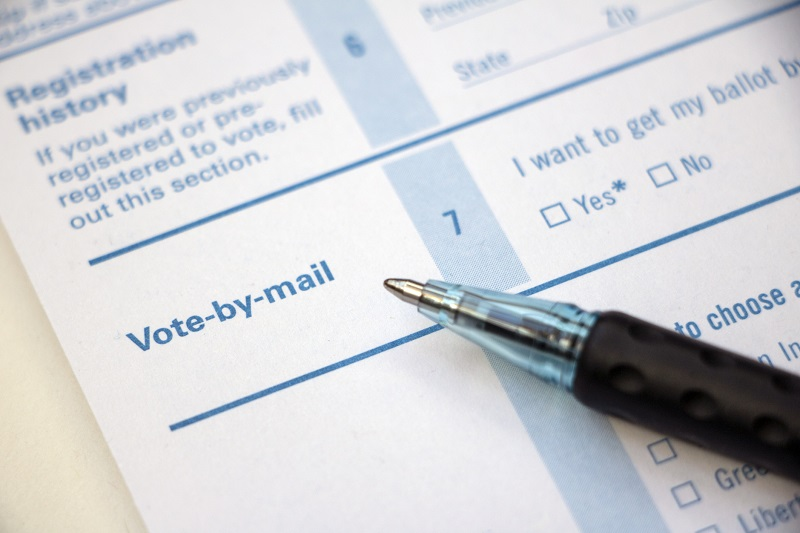 vote by mail example