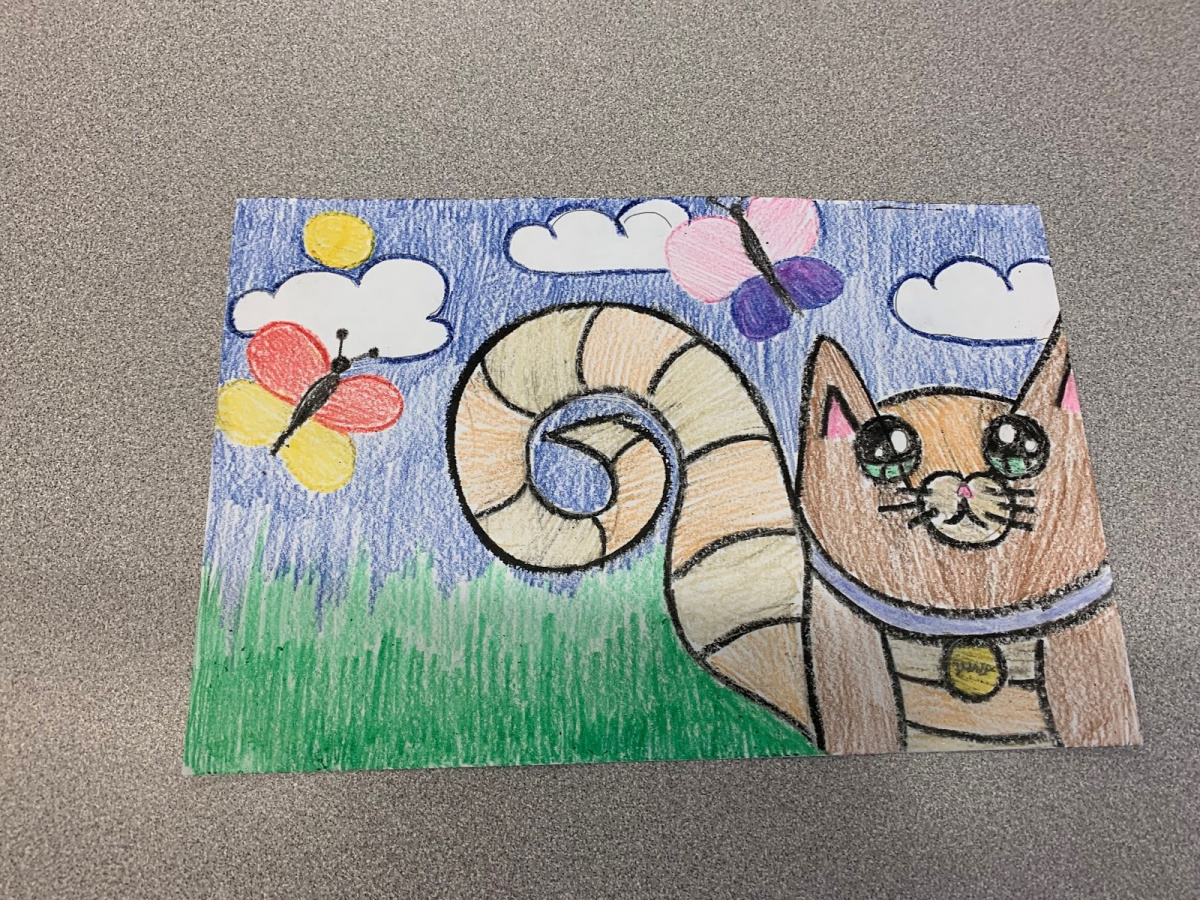 social emotional learning activities: another one of amber's student's fantastic drawings