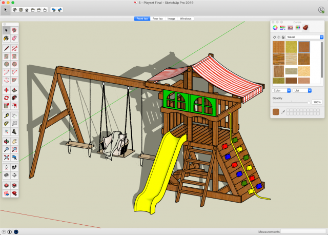 SketchUp - Build A Big Backyard Playset | Share My Lesson on Sketchup Backyard id=72068