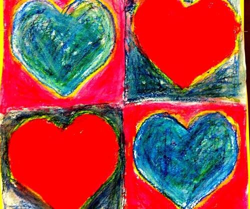 Visual Arts Lesson Plans Jim Dine Hearts Art Lesson