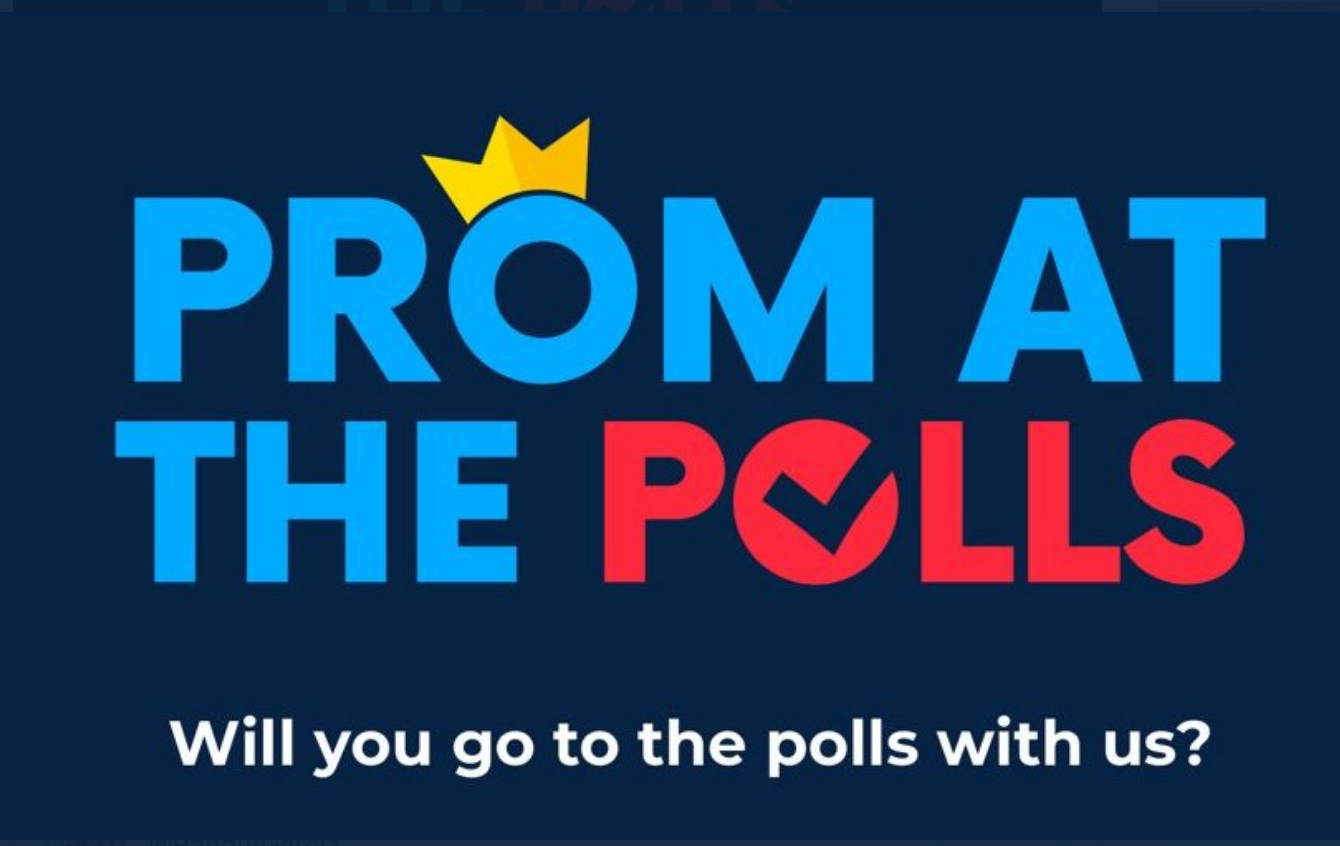 Prom at the Polls logo