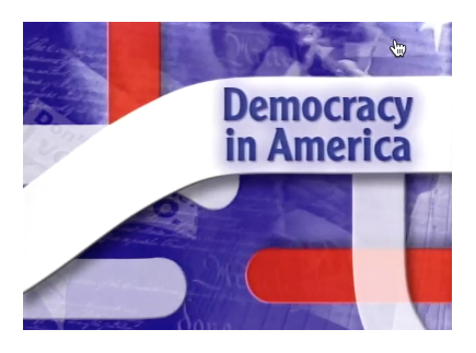 """Main picture of Democracy in America, """"Elections: The Maintenance of Democracy"""""""