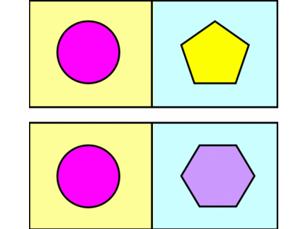 Main picture of 2D shape dominoes