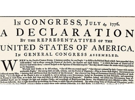 Main picture of Declaration of Independence and Puerto Rico