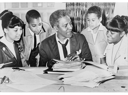 Main picture of March on Washington Lesson Plan: Bayard Rustin