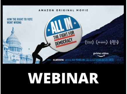 Main picture of Teaching 'All In: The Fight for Democracy' Webinar