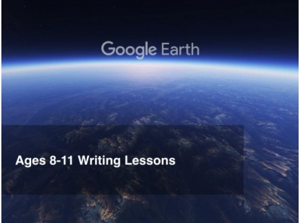 Main picture of Google Earth Education: Writing Lessons Grades 4-5