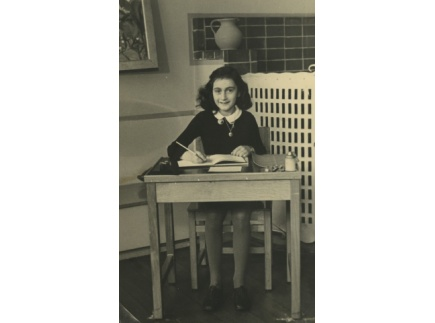 Main picture of Anne Frank Novel Hyperdocs Template