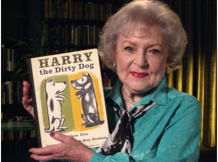 Main picture of Harry the Dirty Dog read by Betty White