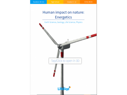 Main picture of Human impact on nature: Energetics