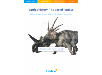 Main picture of Earth's history: The age of reptiles