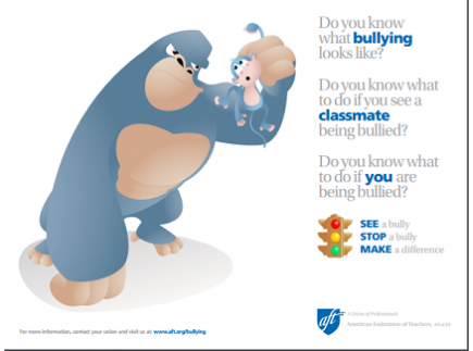 Main picture of Bullying Poster for Elementary Students