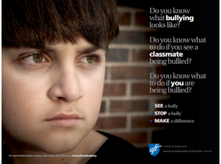 Main picture of Bullying Poster for Secondary Students