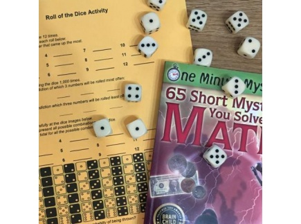 Main picture of Roll of the dice (Grades 4-8; Math:  probability and statistics; critical thinking)