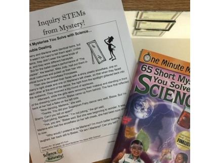 Main picture of Double Dealing (Grades 3-7; Science:  physics; critical thinking)