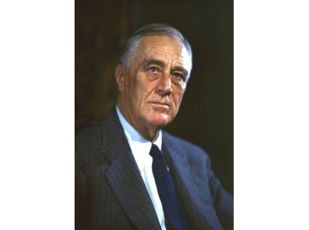 Main picture of Franklin Roosevelt and Hiding his Disability