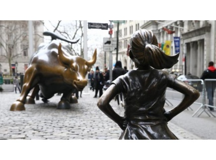 Main picture of Class Debate: Artists Lock Horns Over Fearless Girl and Charging Bull Sculptures