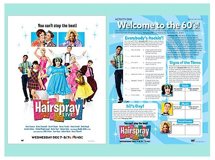 Main picture of Hairspray Live! -- explore the music, culture and trends of the 60s (NBC 12/7)