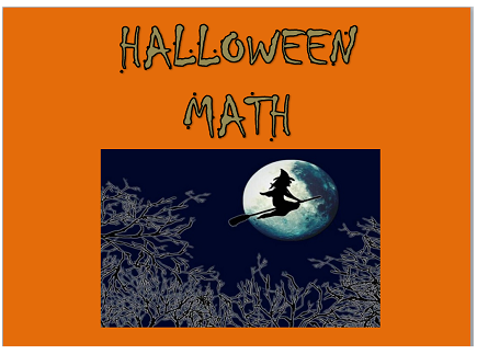 Main picture of Halloween Math Doubling Activity