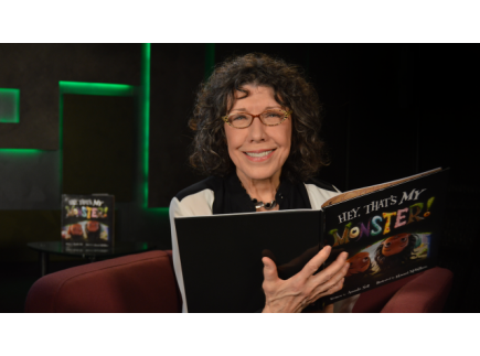 Main picture of Hey, That's My Monster! read by Lily Tomlin