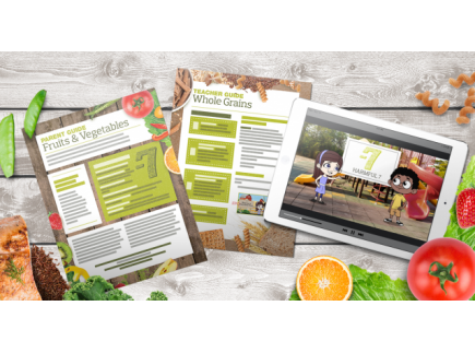 Main picture of Hooray 4 Healthy: Nutrition Education Videos & Guides