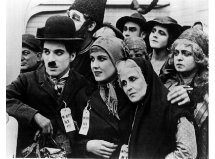 Main picture of LESSON PLAN:  AMERICANS AT THE MOVIES, FEATURING CHARLIE CHAPLIN'S THE IMMIGRANT