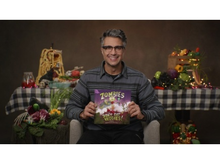 Main picture of Zombies Don't Eat Veggies! read by Jaime Camil