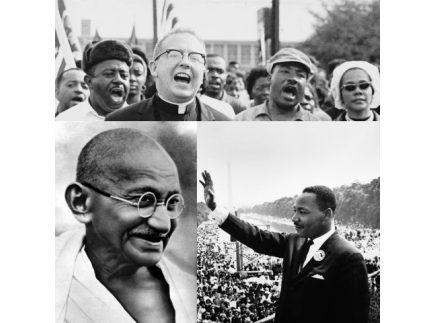 Main picture of Martin Luther King and the Philosophy of Nonviolence