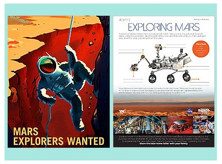 Main picture of Mars Explorers Wanted