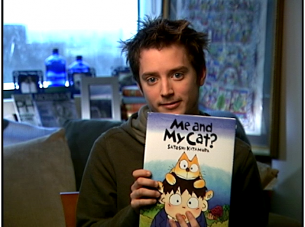 Main picture of Me and My Cat read by Elijah Wood