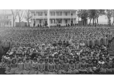 Main picture of US Policy of Assimilation Through Education: Indian Boarding Schools