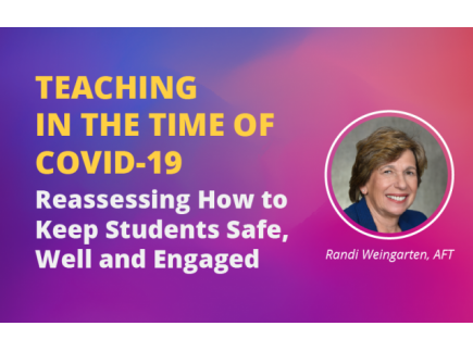 Main picture of Teaching in the Time of COVID-19: Reassessing How to Keep Students Safe, Well and Engaged