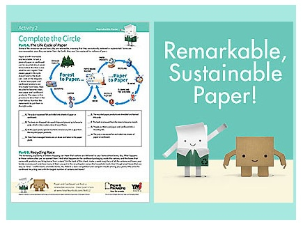Main picture of Remarkable Sustainable Paper! (a look at sustainability and recycling)