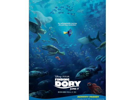 Main picture of Finding Dory Activity Packet