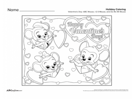Main picture of Valentine's Day Printables Collection