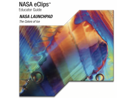 Main picture of NASA ECLIPS: (HIGH SCHOOL) THE COLORS OF ICE