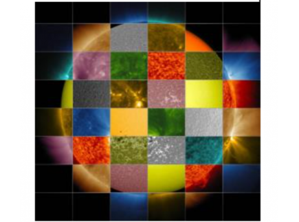 Main picture of NASA ECLIPS INTERACTIVE LESSON: SOLAR IMAGES (ELEMENTARY)