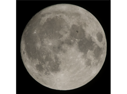 Main picture of NASA ECLIPS: DISTANCE TO THE MOON