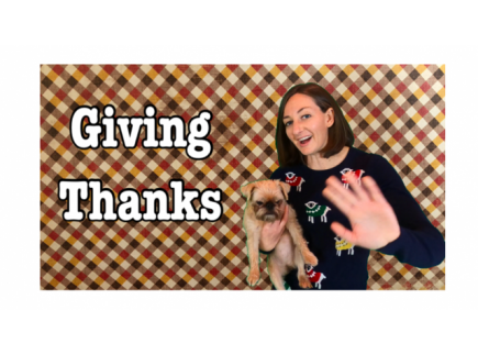 Main picture of Giving Thanks Lesson for Kids