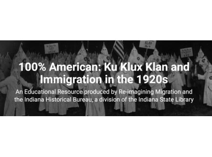 Main picture of The KKK and Immigration in the 1920's