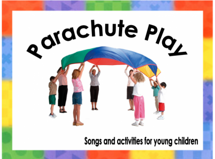 Main picture of Parachute Songs/ games