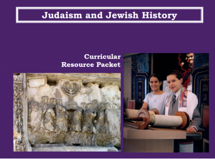 Main picture of Judaism and Jewish History: Teacher Guides and Lesson Materials