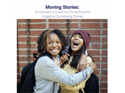 Main picture of Moving Stories Educators Guide: