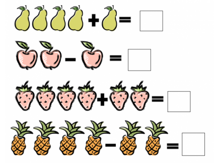Main picture of Addition and subtraction handout