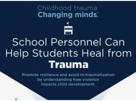 Main picture of AFT Infographic on Trauma Informed Practices