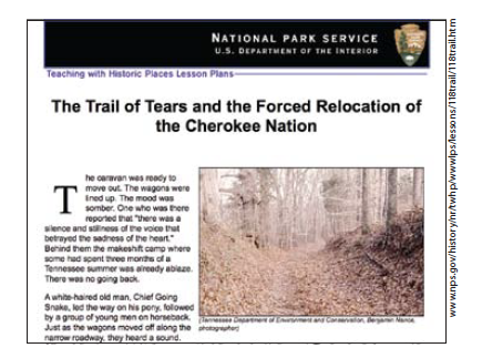 Main picture of Manifest Destiny and the Cherokee Removal