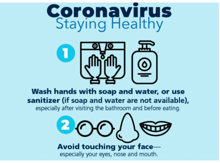 Main picture of Parent and Community Printables for the Coronavirus: Prevention Tips - English and Spanish